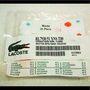 Lacoste Other Wristband Aka Sweatband New From 2008